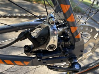 TRP Spyre rear brake