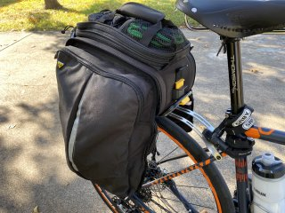 Topeak MTX TrunkBag EXP with pannier down
