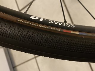 Bontrager R3 mounted on DT Swiss rim