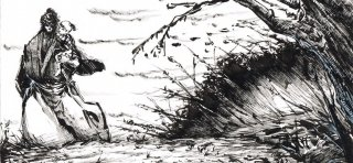 Lone Wolf and Cub Artwork