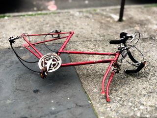 Bicycle carcass